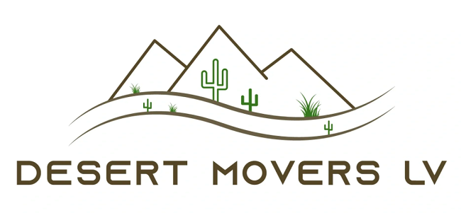 """""""Desert Movers LV"""" Logo"""