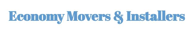 """""""Economy Movers & Installers"""" Logo"""