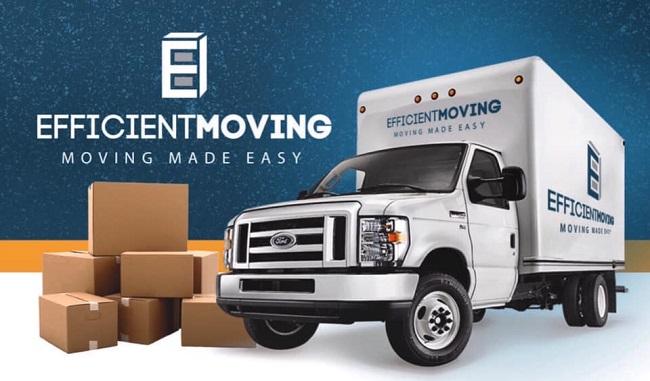"""Efficient Moving LLC"" Truck"