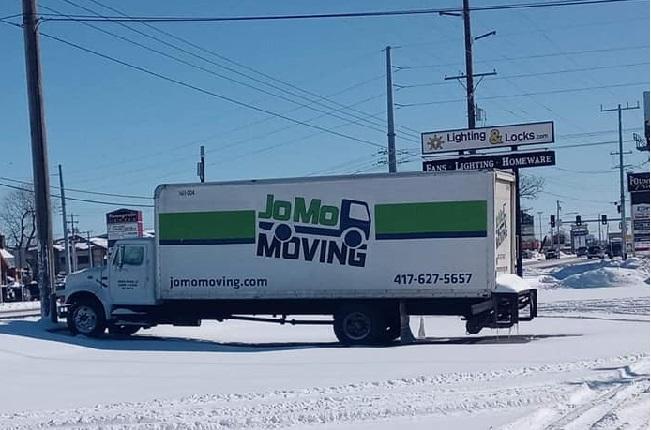 """JoMo Moving"" Truck"