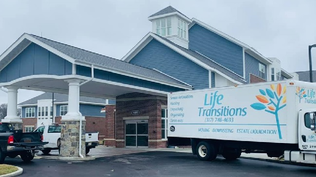 """""""Life Transitions"""" Truck"""