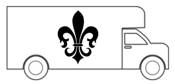 """Movin' Mike LLC"" Logo"