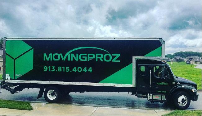 """Moving Proz Kansas City"" Truck"
