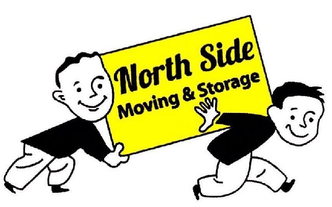 """""""North Side Moving & Storage"""" Truck"""