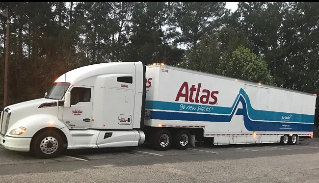 """Northlake Moving & Storage"" Truck"