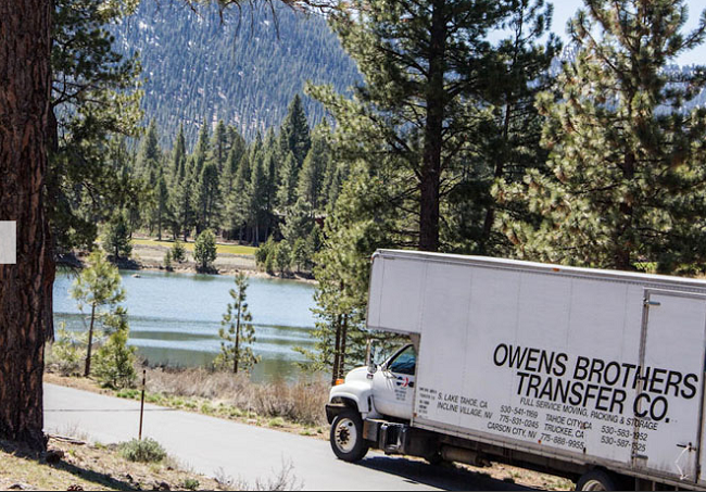 """Owens Bros Transfer"" Truck"