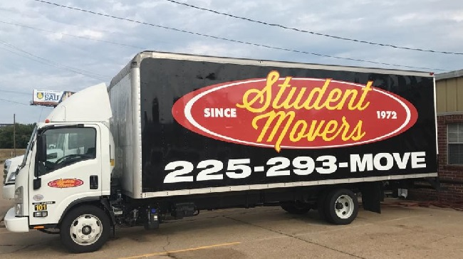 """""""Student Movers"""" Truck"""